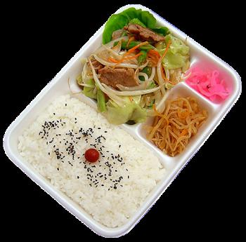 肉野菜炒め弁当