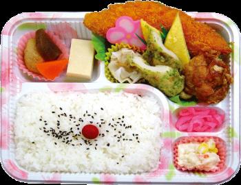幕の内弁当(札幌)