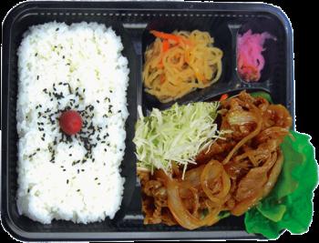 豚生姜焼き弁当(札幌)