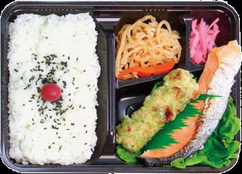 銀ジャケ弁当(札幌)