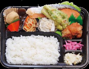 銀ジャケデラックス弁当(札幌)