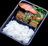 銀鮭と玉子焼き