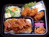 カキ生姜弁当