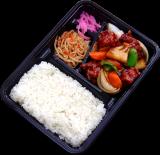 タラと野菜の黒酢炒め
