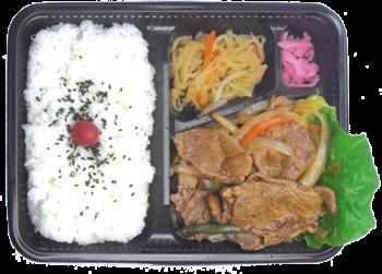 焼肉弁当(豚)(札幌)