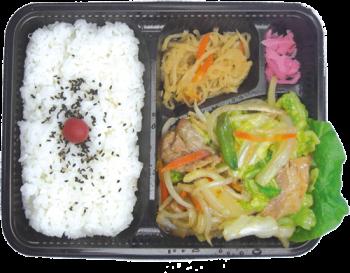 肉野菜炒め弁当(札幌)